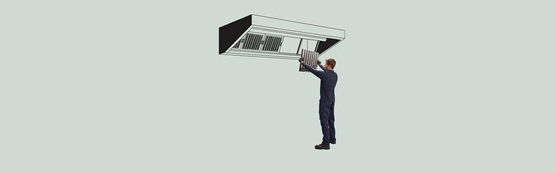 Limpieza de filtros de campana harmoniaenergy - Limpiar campana extractora ...
